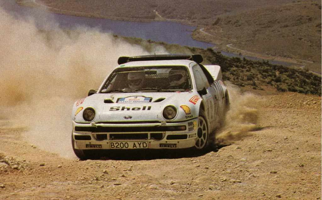 Ford Rs200 Rally Car Rally Car Ford Motorsport Rally Racing