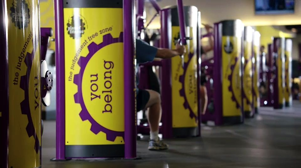 Planet Fitness Proud Home Of The Judgement Free Zone Planet Fitness Workout Planet Fitness Gym Fitness