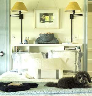 If There S No Room For A Nightstand Or Bedside Table Add A Built In