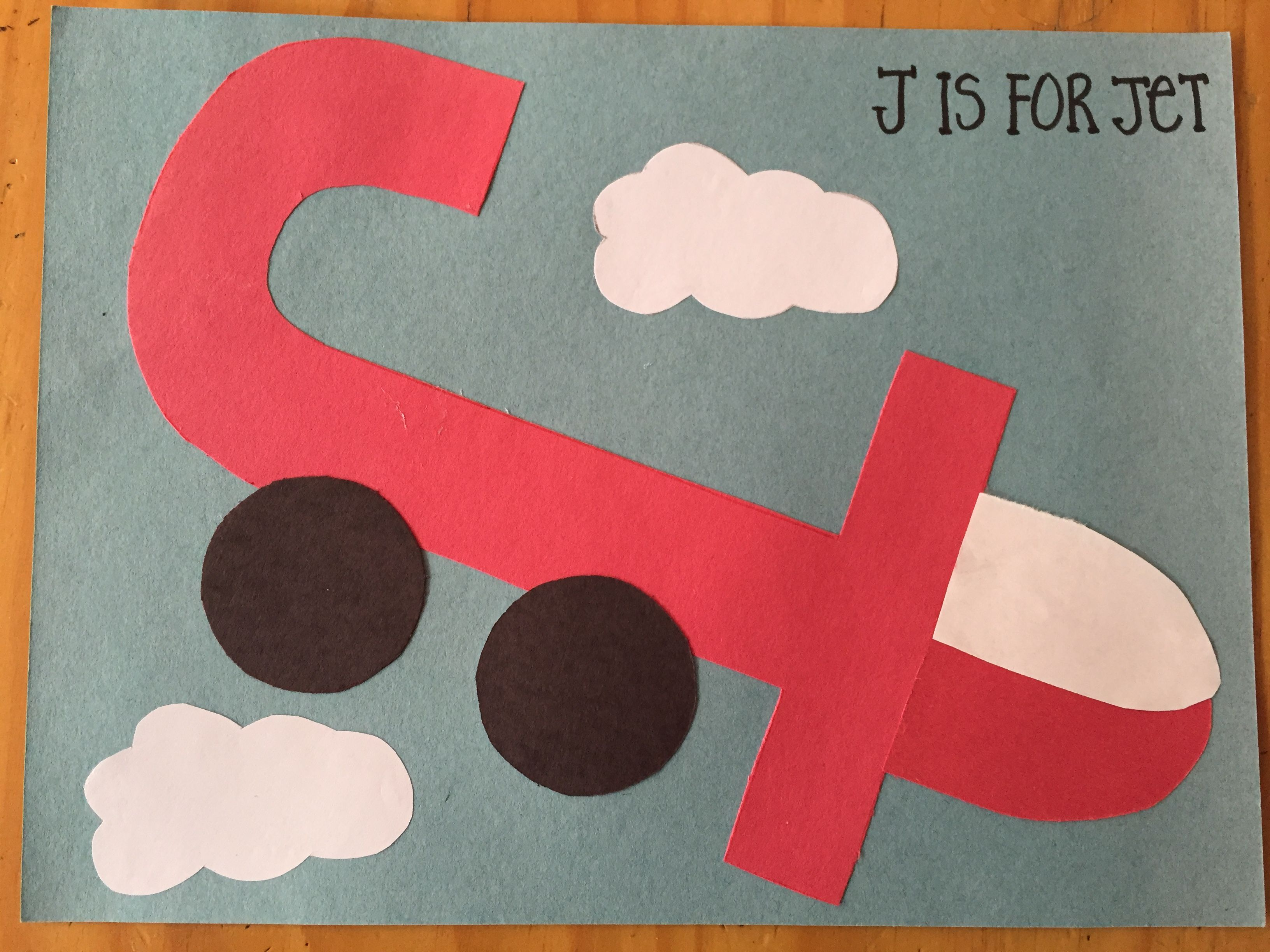 J Is For Jet Made By Diana Diaz At K2 Letterj Jisfor