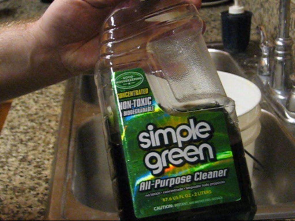 Cleaning aFe or K&N air filters w/ Simple Green Air