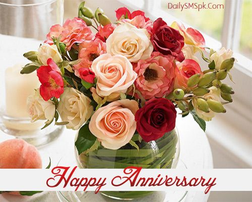 Find This Pin And More On Anniversary Messages Happy Wedding Flower