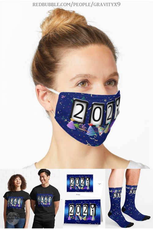 Celebrate The New Year Wearing A Custom Odometer Design Mouth Mask In 2020 Mouth Mask Fashion Mouth Mask Party Hats