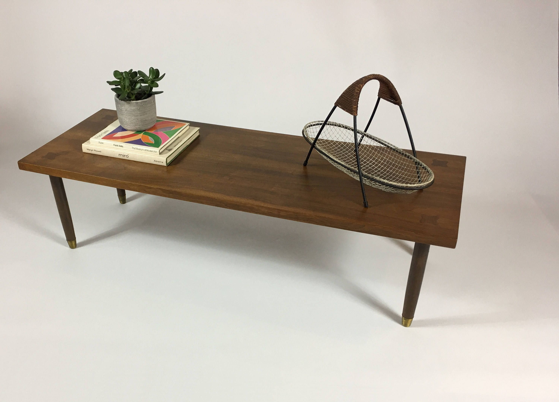Wooden Bench, Walnut Coffee Table, Modern Coffee Table ...