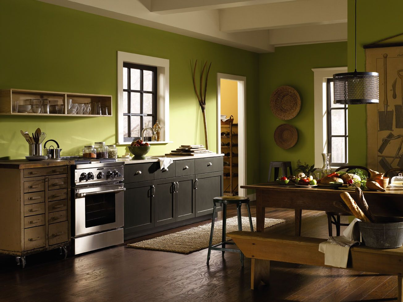 Bored Of White Kitchens? Discover The Cabinet Color ...