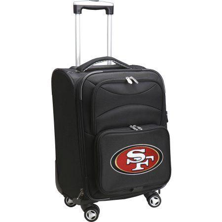 Denco NFL Carry-On Spinner, 49ers, Black