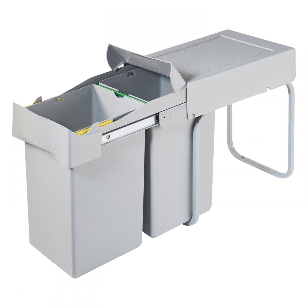 Obi Einbaumulleimer 2 X 14 L Kaufen Bei Obi Von Mulleimer Kuche Automatischer Auszug In 2020 Mulleimer Kuche Mulleimer Kuche Einbau Kuche