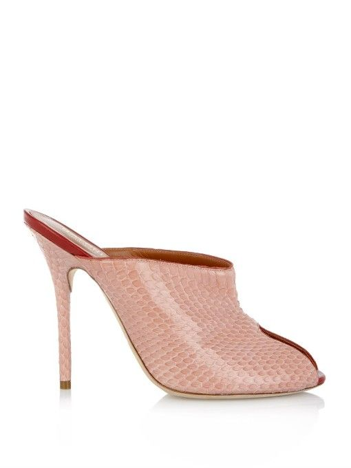 Malone Souliers Dawn Snakeskin Sandals for sale official site BkAey86d