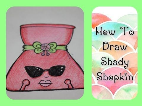 Pleasing How To Draw Shopkins Shady Step By Step Episode 3 Hairstyle Inspiration Daily Dogsangcom