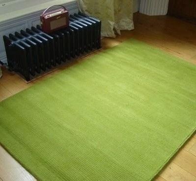 Bright Lime Green Rugs