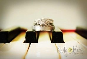 Wedding Photography: The rings.  Gainesville, Texas