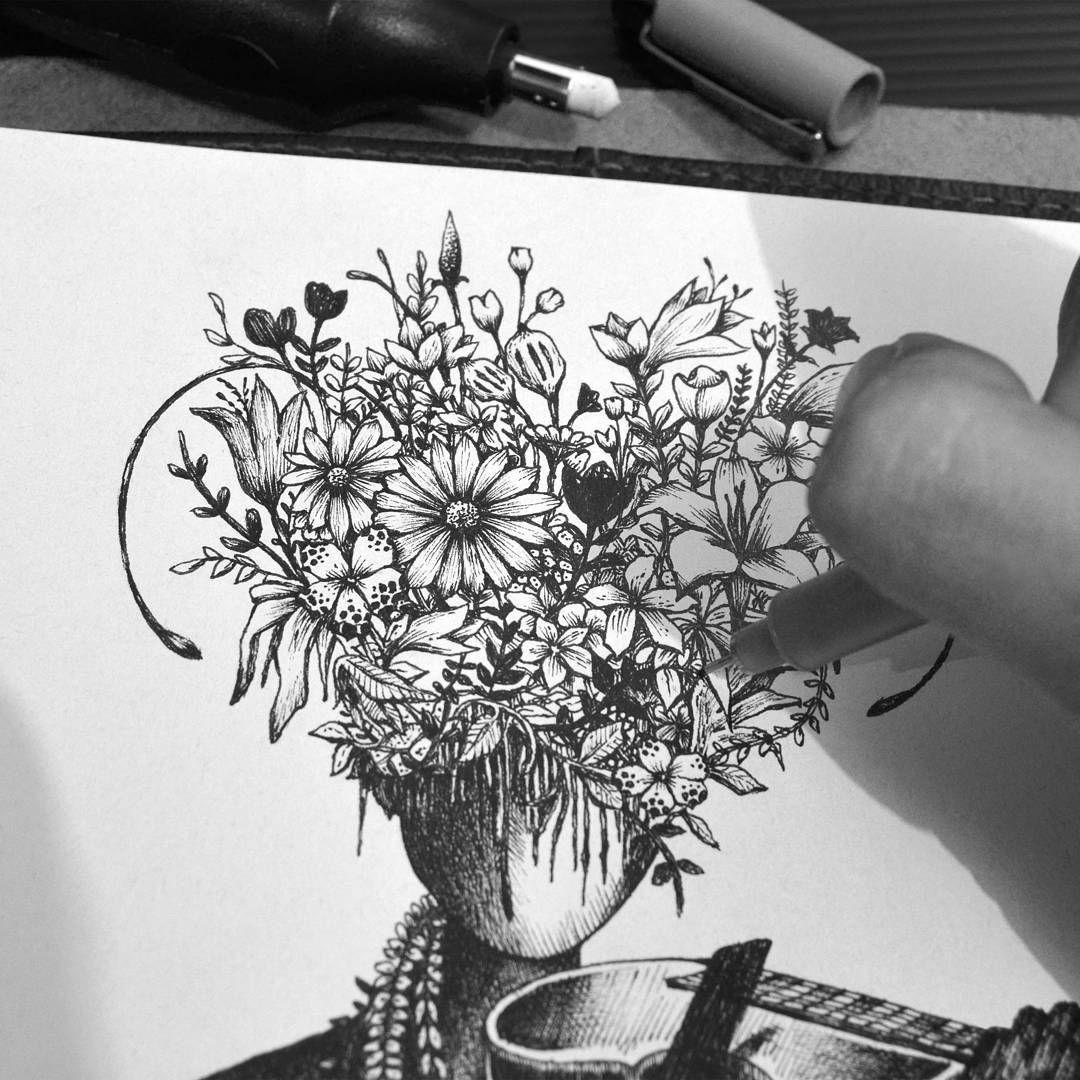 Drawing by chandradst (Dengan gambar)