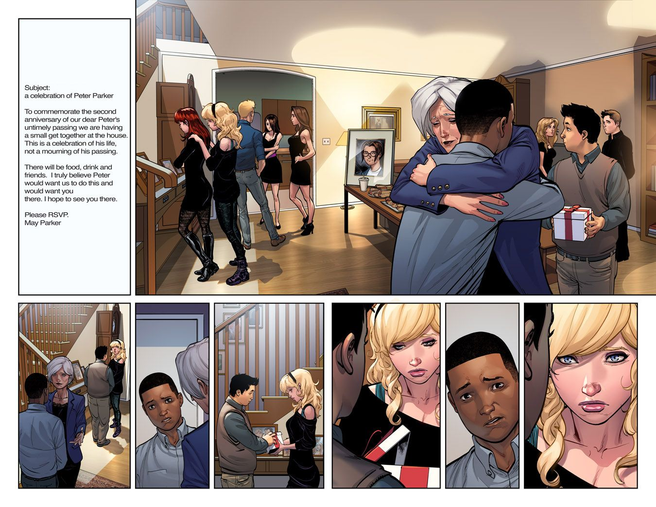 First Look Ultimate Spider Man 200 Comic Vine Ultimate