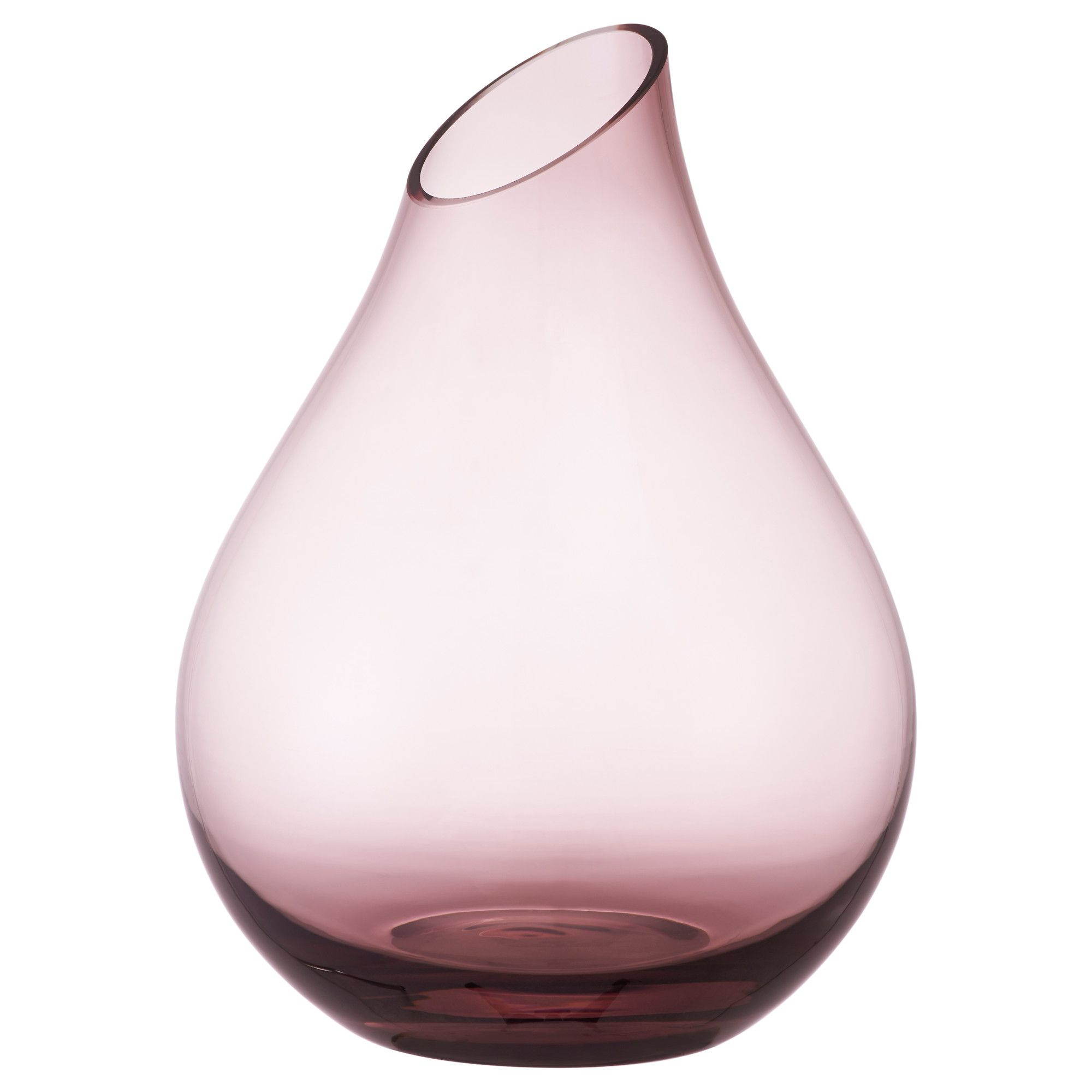 Vase En Verre Ikea Ikea Sannolik Vase The Glass Vase Is Mouth Blown By A Skilled