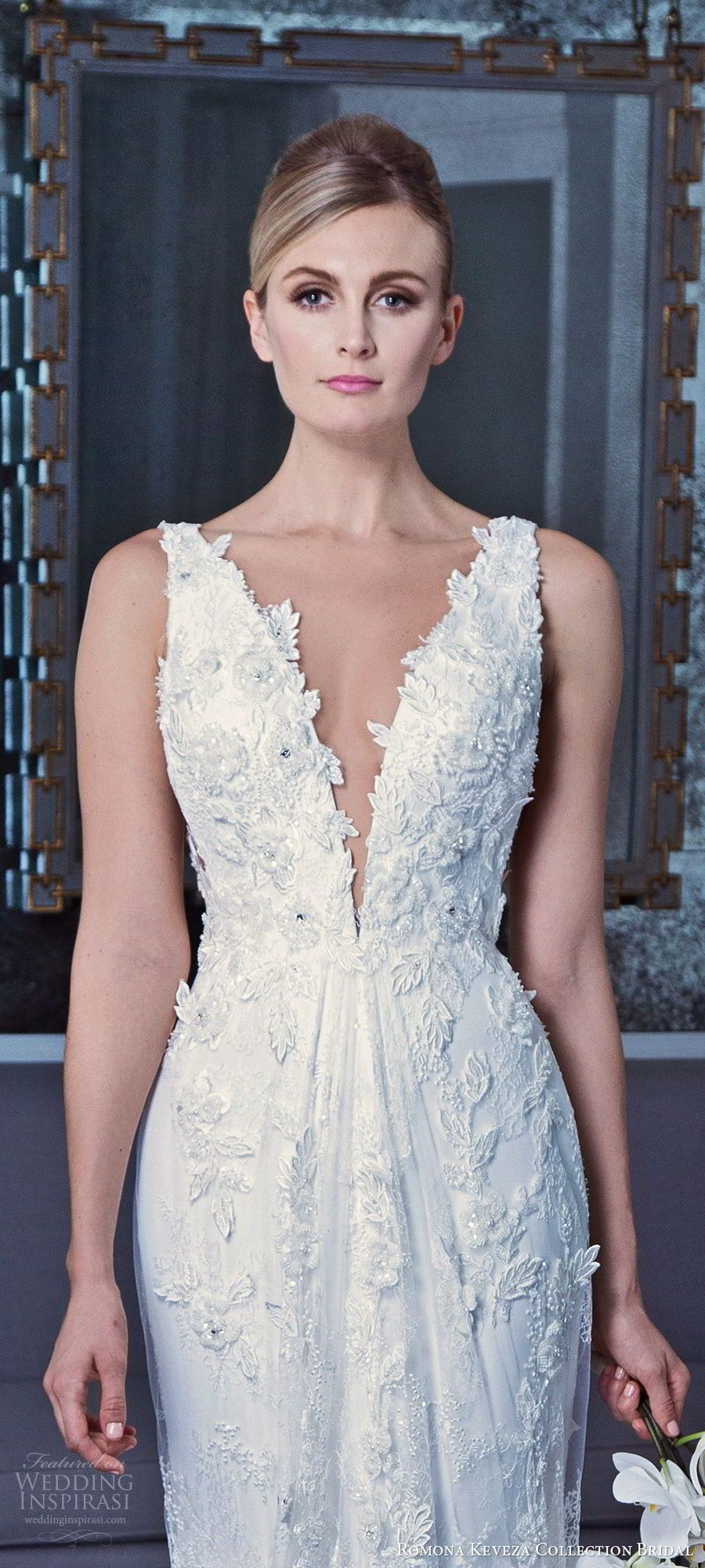 Lace wedding dress for short person january 2019 Romona Keveza Collection Bridal Fall  Wedding Dresses  Bodas