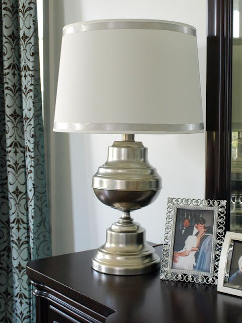 Trash To Treasure Brass Lamp From Goodwill Sprayed With