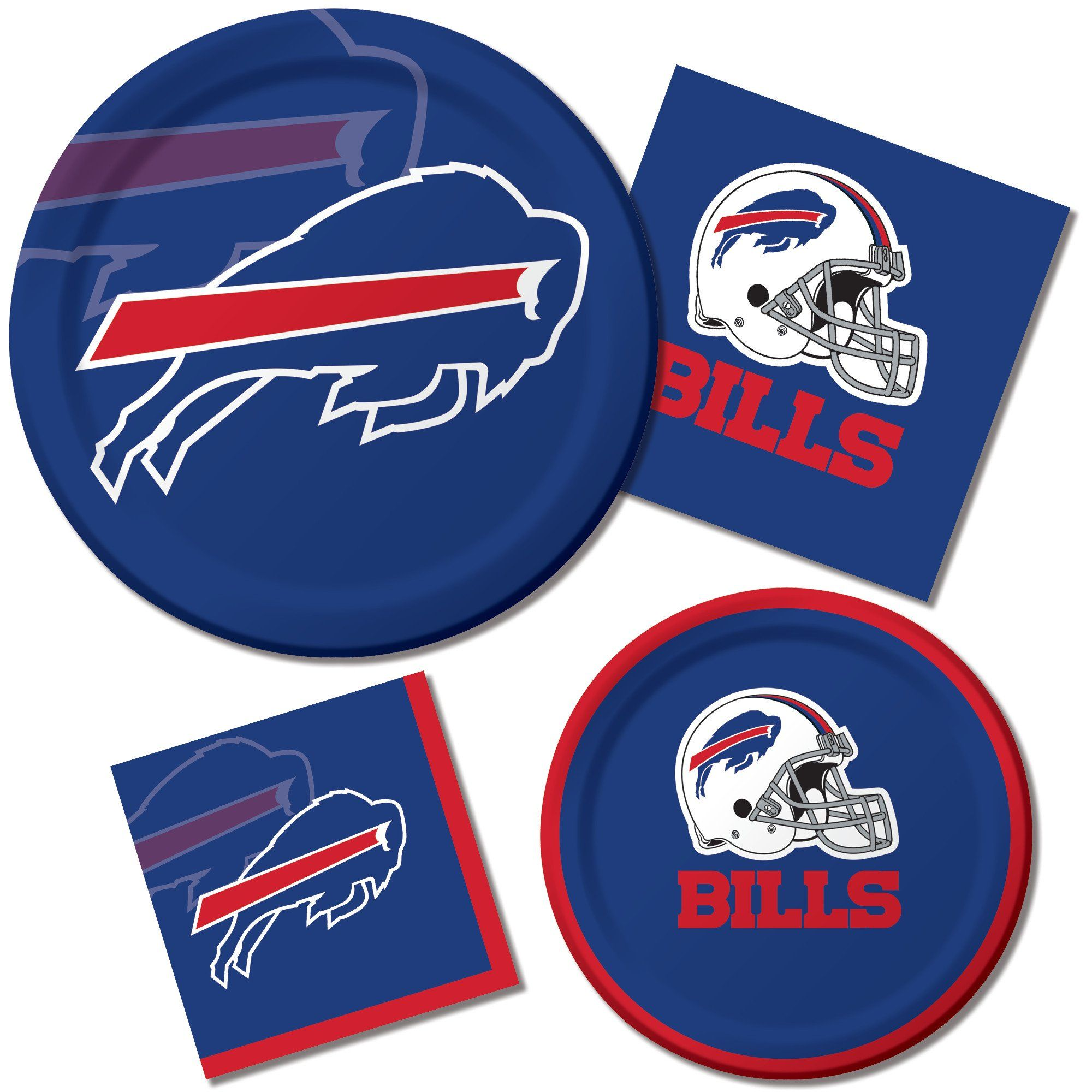 Creative Converting 8 Count Buffalo Bills Paper Dinner Plates You Can Get More Details By Clicking On The Image It I Buffalo Bills Bills Creative Converting