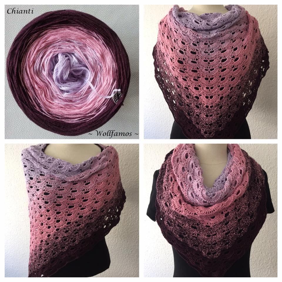Bobbel von ~Wollfamos ~ >> Chianti << | Crochet/Knit scarves, cowls ...