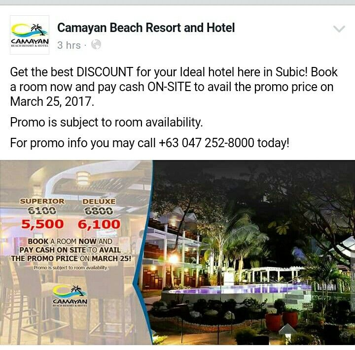 Camayan Beach Resort and Hotel Subic Its more fun in the