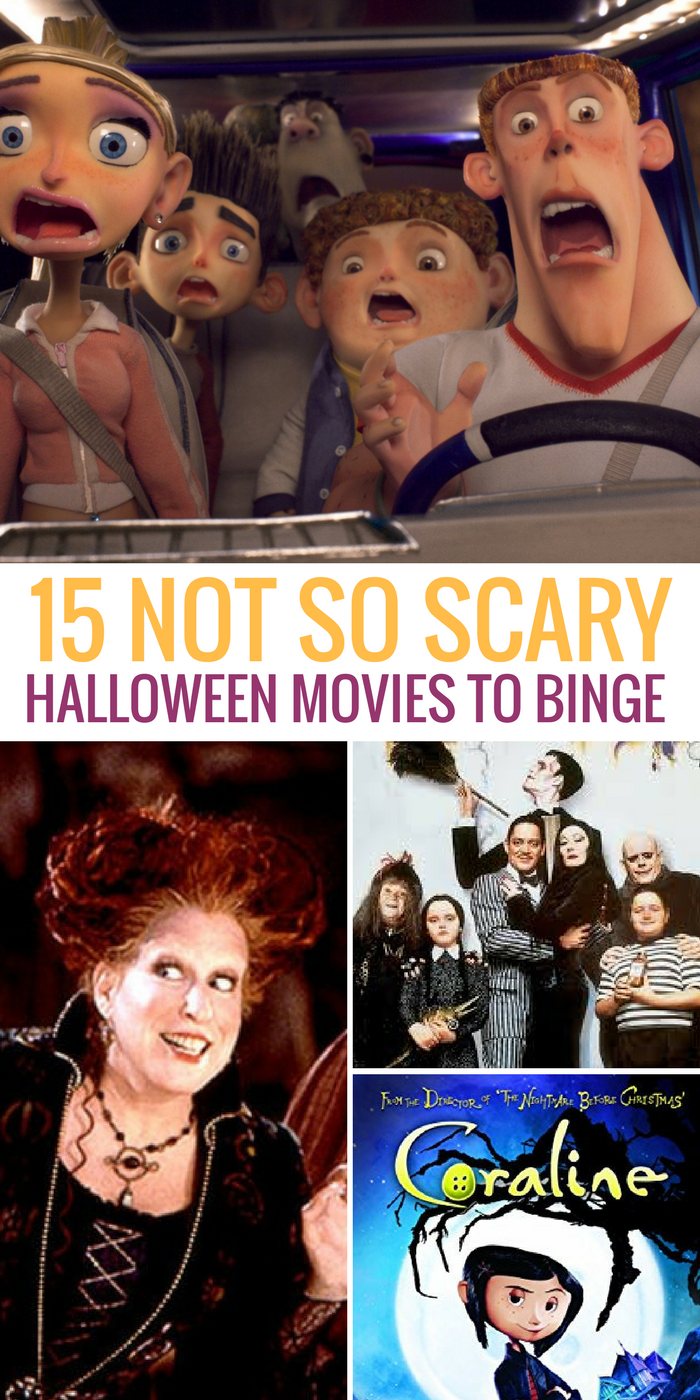 here are 15 of the best not-scary halloween movies you can buy or