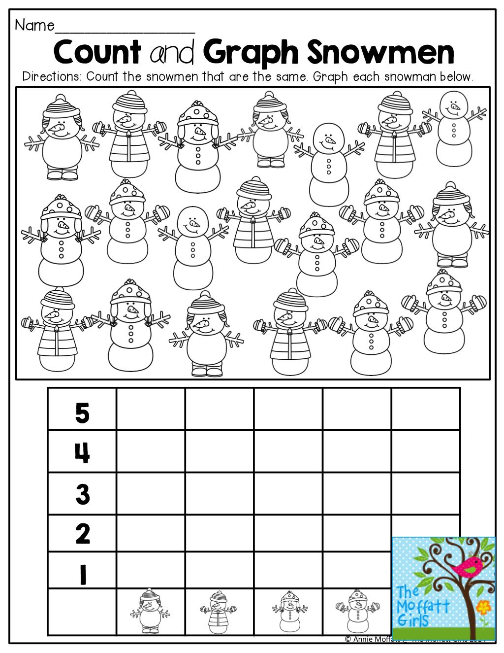December No Prep Packet Kindergarten Teaching Math Elementary Preschool Math Teaching Math [ 1325 x 1024 Pixel ]