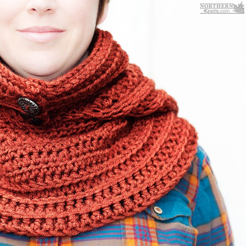 Crochet pattern north winds hooded cowl scarf by northern crochet pattern north winds hooded cowl scarf by northern knots crochet cowl pattern bankloansurffo Images