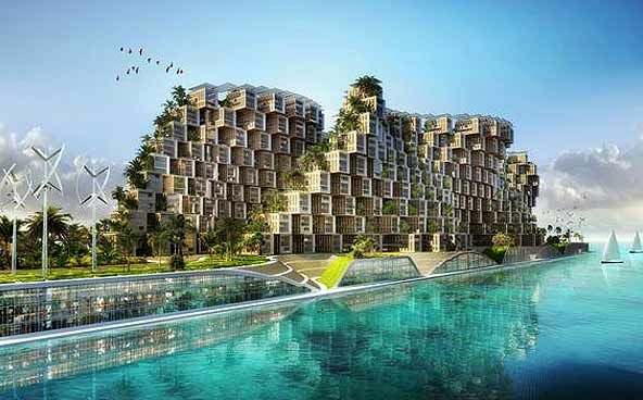Coral Reef by Vincent Callebaut
