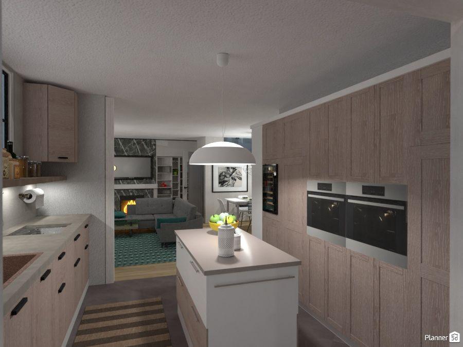 wood kitchen interior planner 5d interior wood paneling kitchen planner interior design tools on kitchen remodel planner id=32630