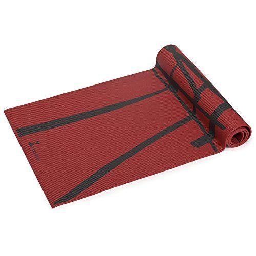 Asan Point Master Grip Yoga Mat With Body Alignment System Print Yoga Mat Yoga Mat Yoga Towel