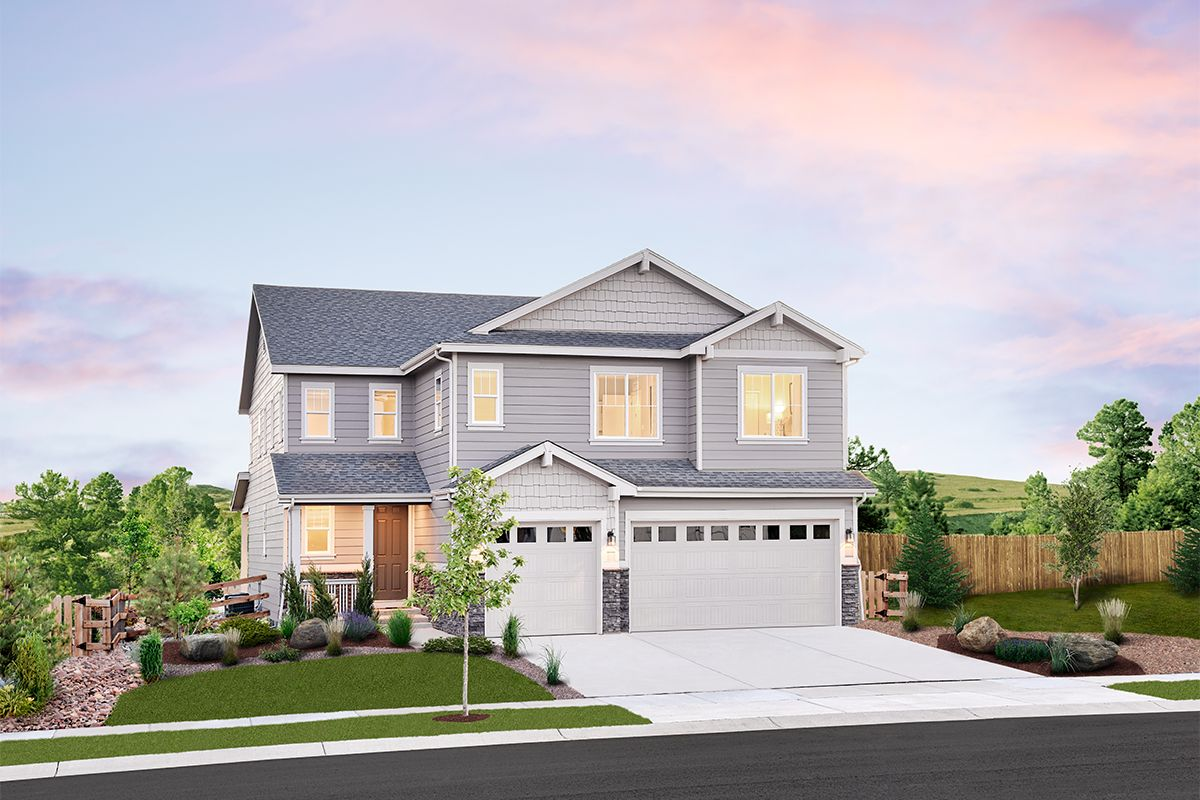 Two Story Yorktown Model Home Fort Collins Colorado Richmond American Homes Richmond American Homes Richmond Homes Richmond American