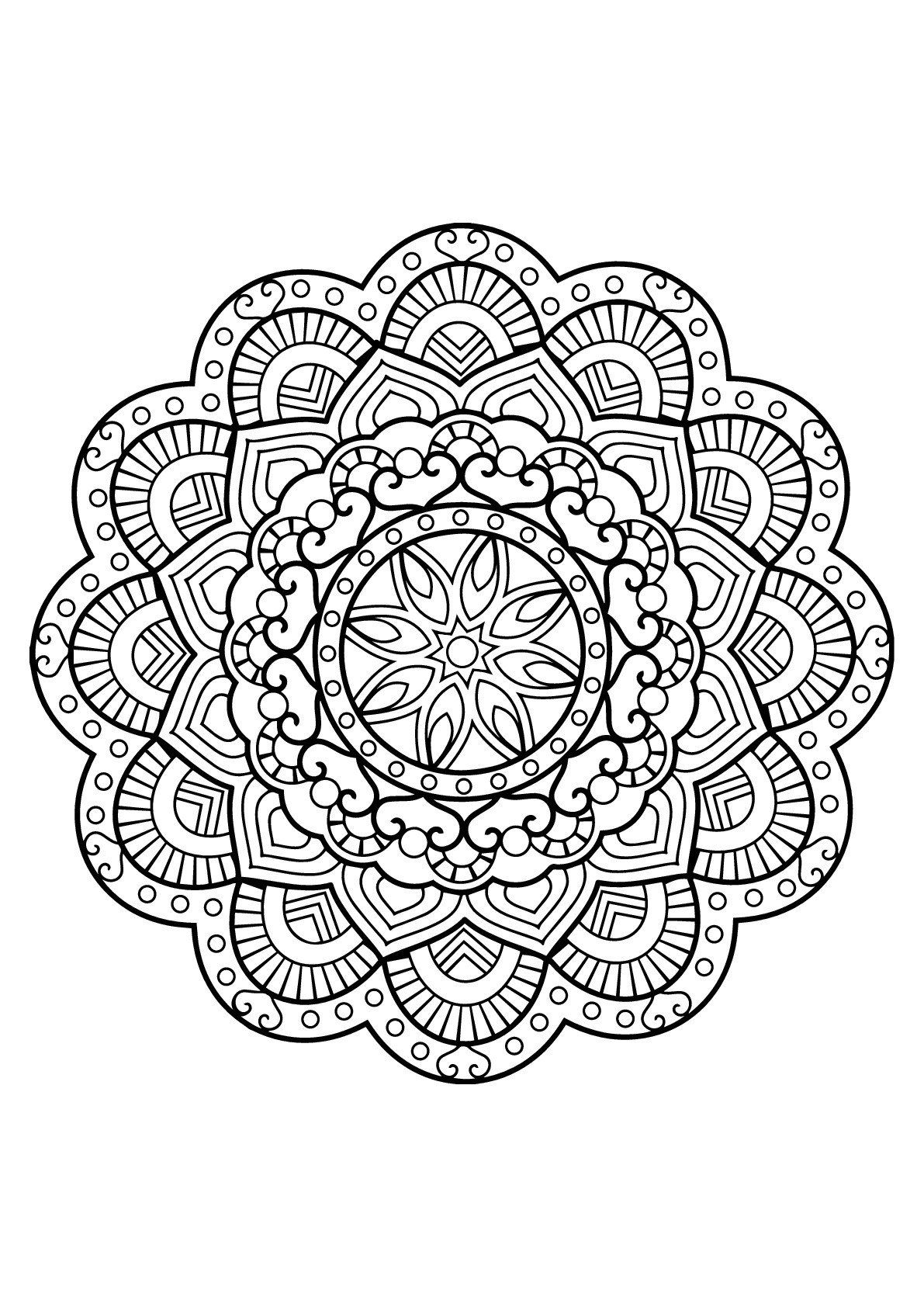 Mandala Online Coloring Pages Coloring Pages Coloring Bookr Adults Free Mandala From Mandala Coloring Pages Mandala Coloring Books Mandala Coloring