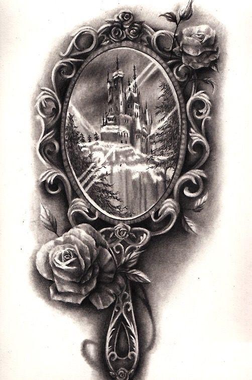 pin von mirror on the wall auf disney pinterest tattoo ideen tattoo vorlagen und w nde. Black Bedroom Furniture Sets. Home Design Ideas