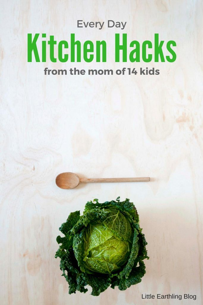 Large Family Kitchen Hacks from the mom of 14 kids!  #HeftyUltraStrong #ad