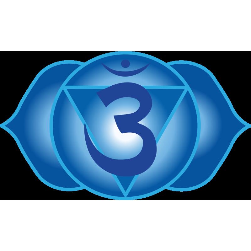 Third Eye Chakra Symbol 6th Chakra Ajna Chakra Pinterest