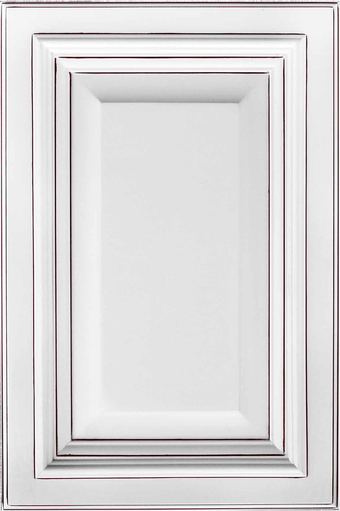 Dakota White Rta Kitchen Cabinets: White Deluxe Chocolate W/ Pen Glaze