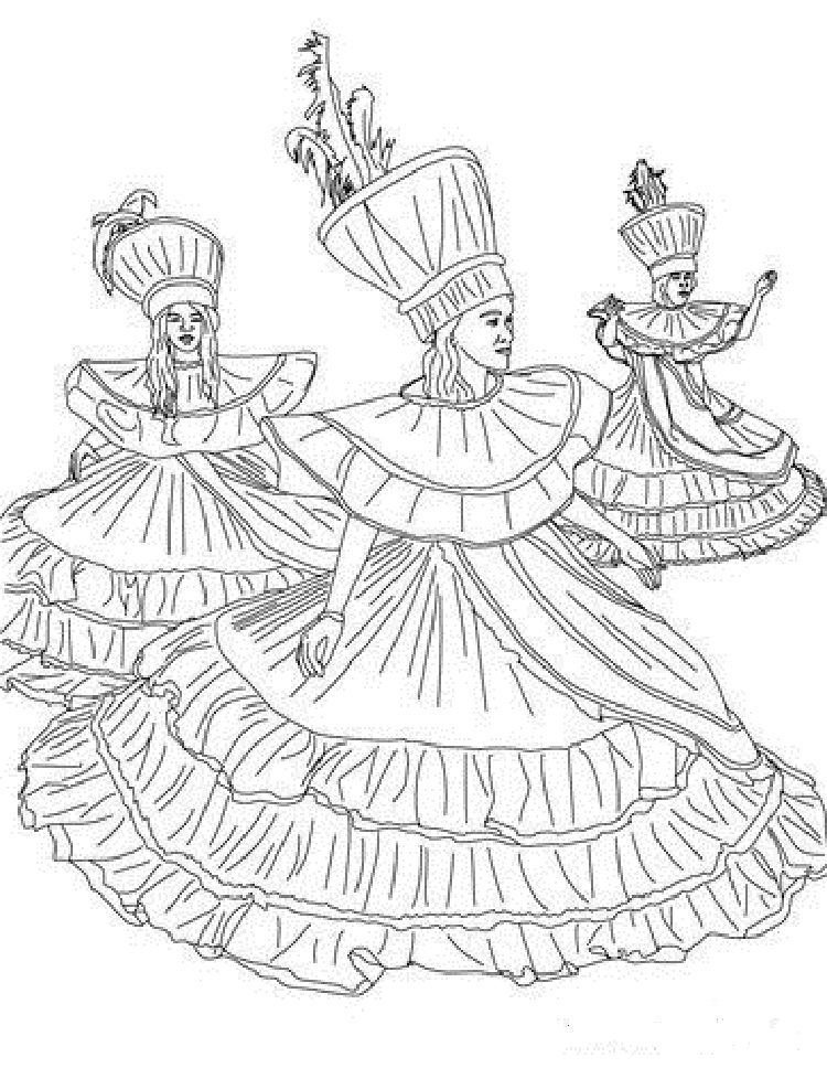Trinidad Carnival Coloring Pages Check More At Coloringareas 7830