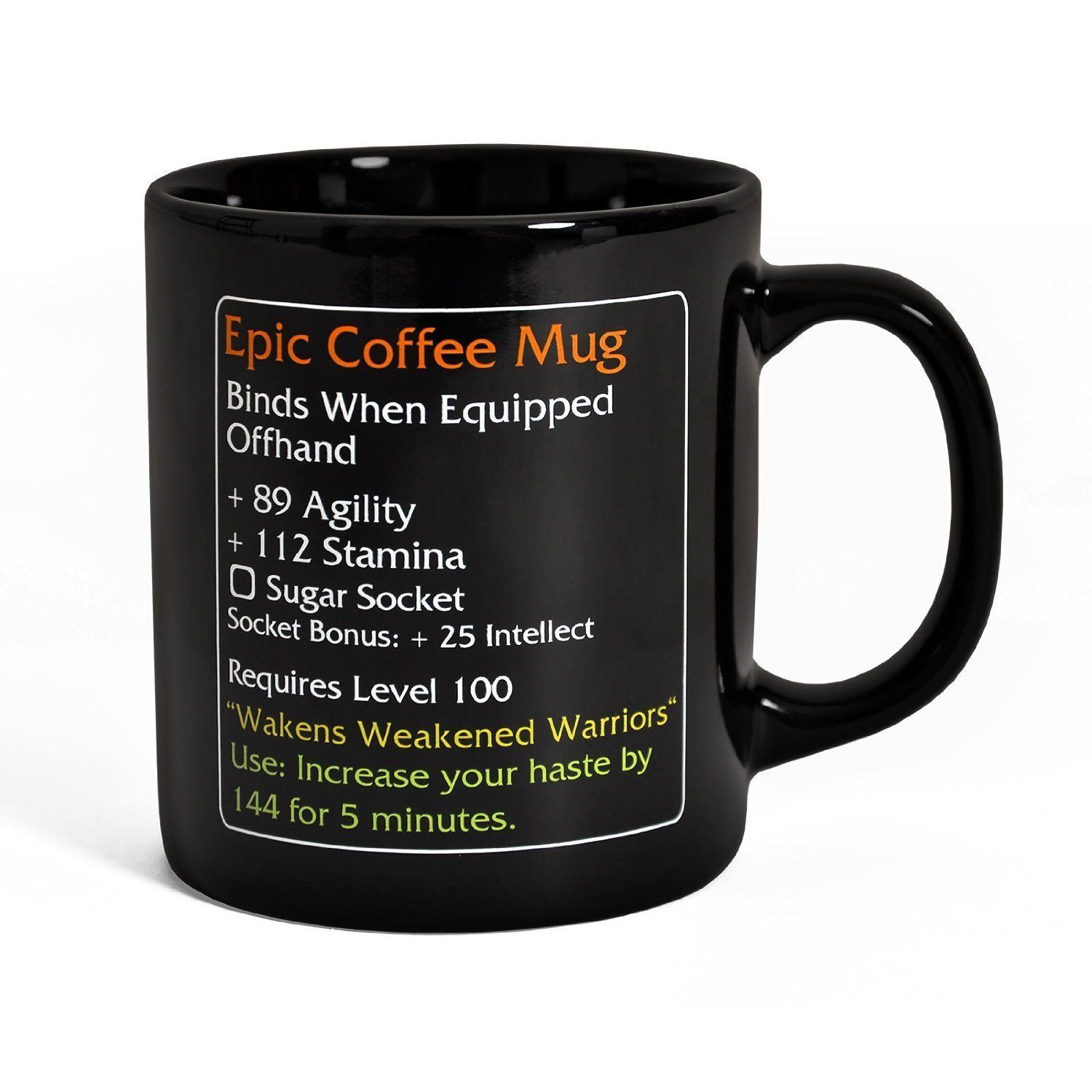 Epic Coffee Mug Level 100 For fans of MMO Games