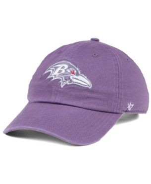 2b6ea039 47 Brand Women's Baltimore Ravens Pastel Clean Up Cap - Purple ...