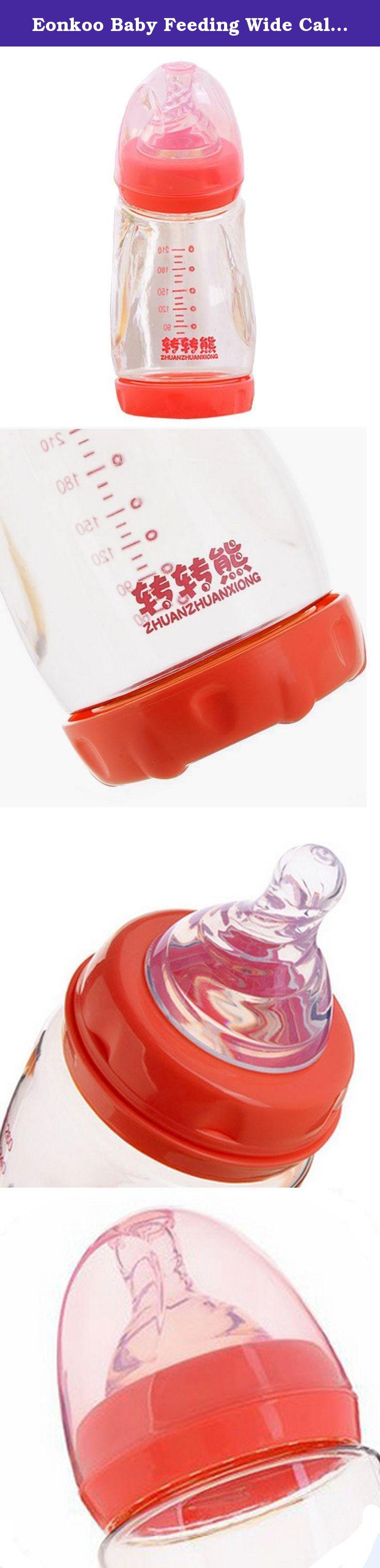 Eonkoo baby feeding wide caliber bottles crashproof1