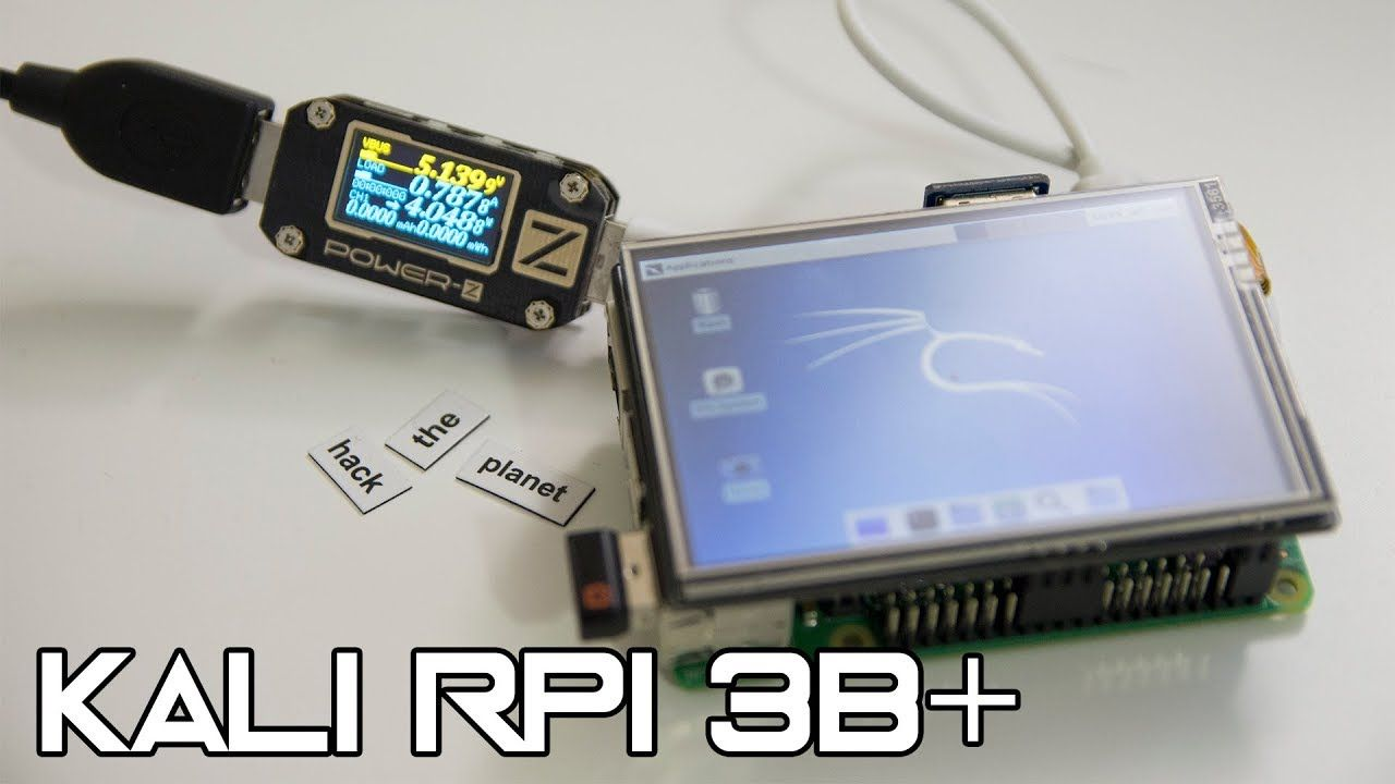 Kali Linux on Raspberry Pi 3B+ with Monitor Mode | Raspberry Pi in