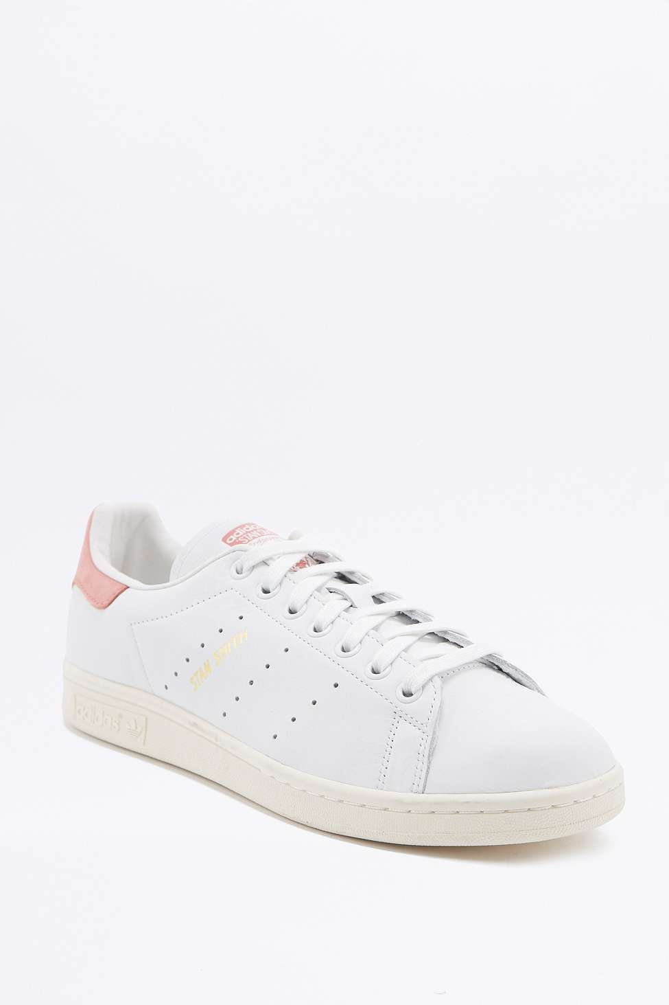 "adidas Originals – Sneaker ""Stan Smith"" in Weiß und Rosa"
