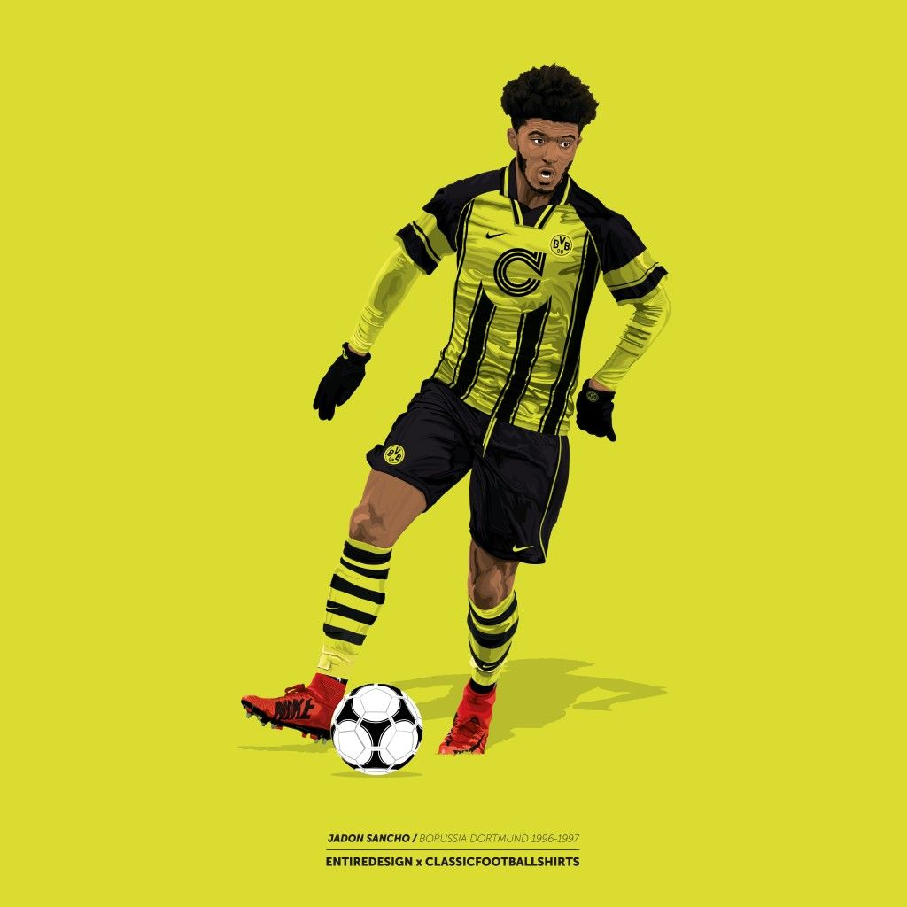 Jimmy On Twitter Football Illustration Football Wallpaper Sports Art