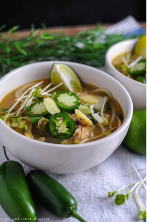 15 Chicken Noodle Soup Recipes You Can Make In Your Slow Cooker Slow Cooker Soup Crockpot Pho Soup Recipes Slow Cooker