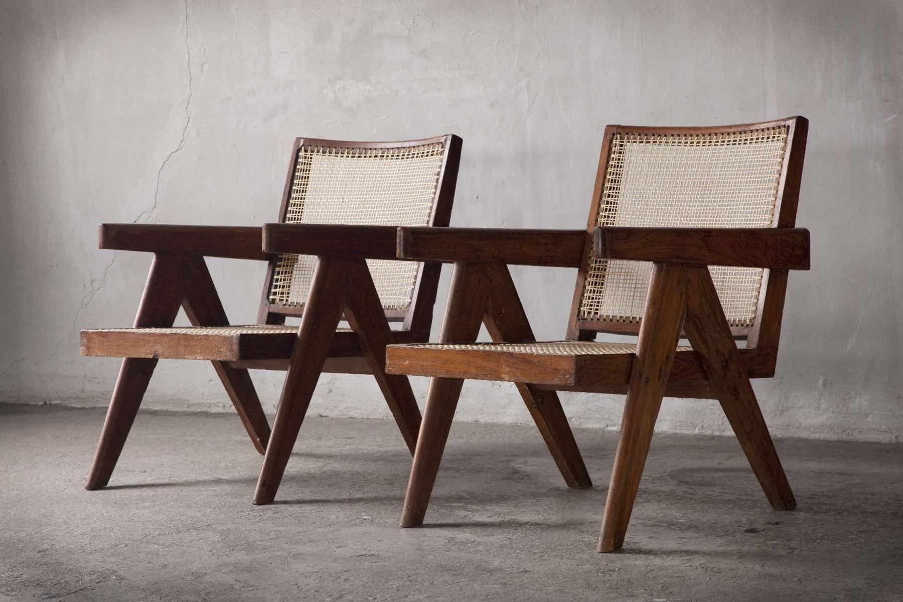 Pierre Jeanneret Chairs Pierre Jeanneret Mobilier Salon Mobilier
