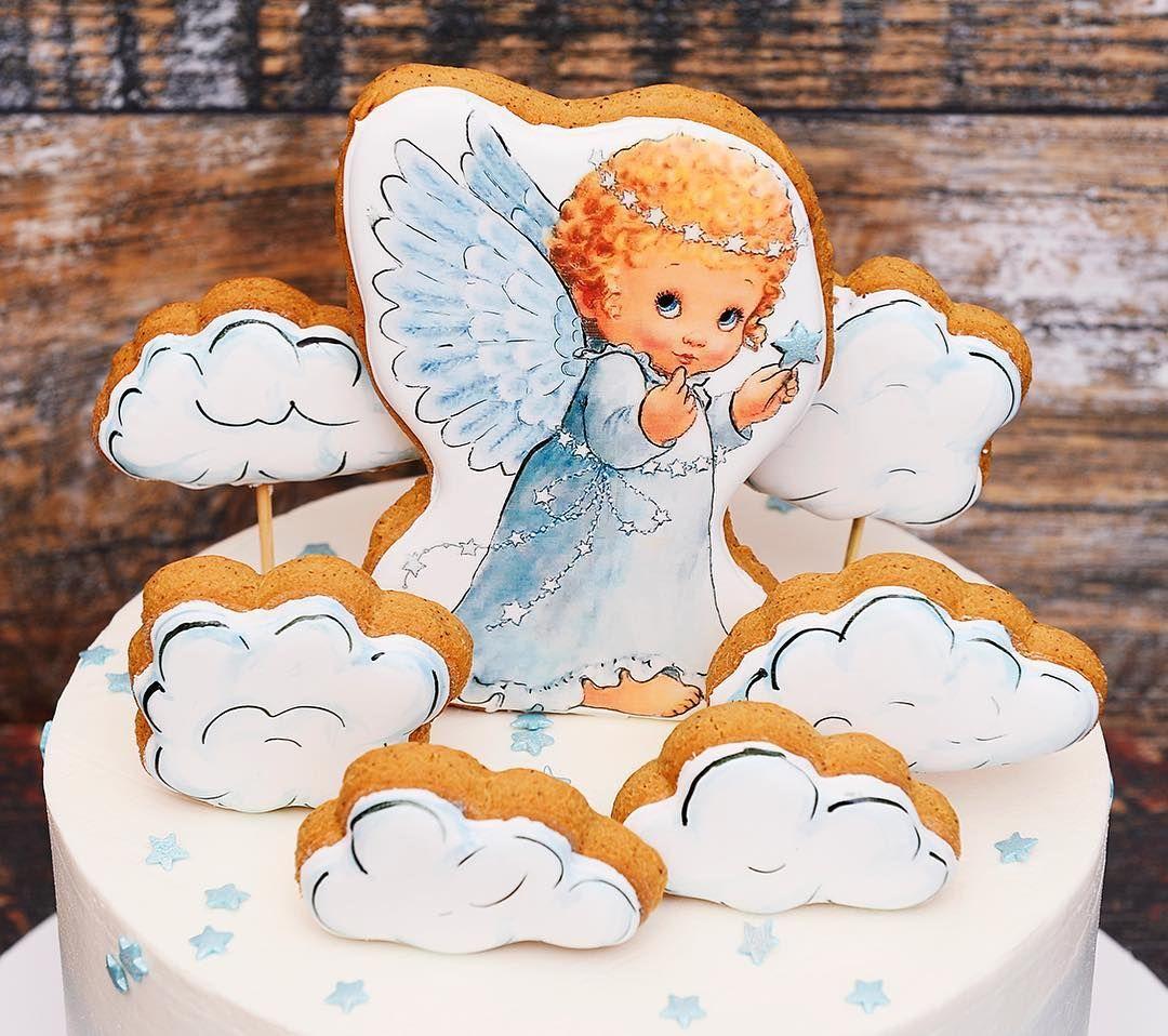 картинки с тортами и ангелами приподнятом