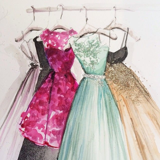 aquarela dresses