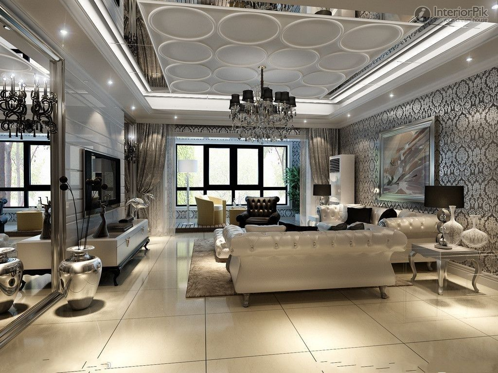 eurpeanceiling molding | european-style modern living room ceiling