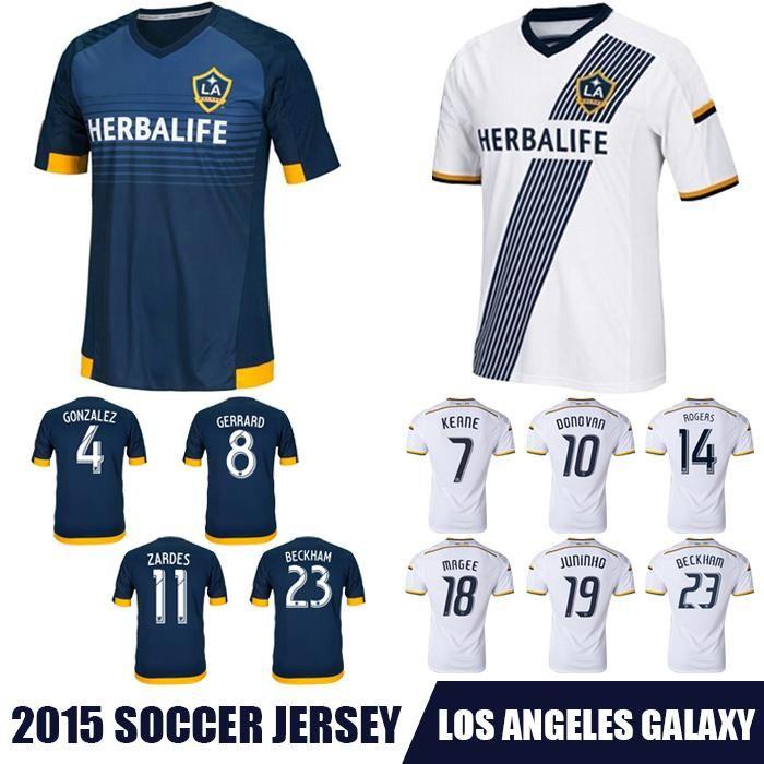 watch f9d02 e47e9 Online Cheap Whosales Discount La Galaxy 2015 Soccer Jersey ...