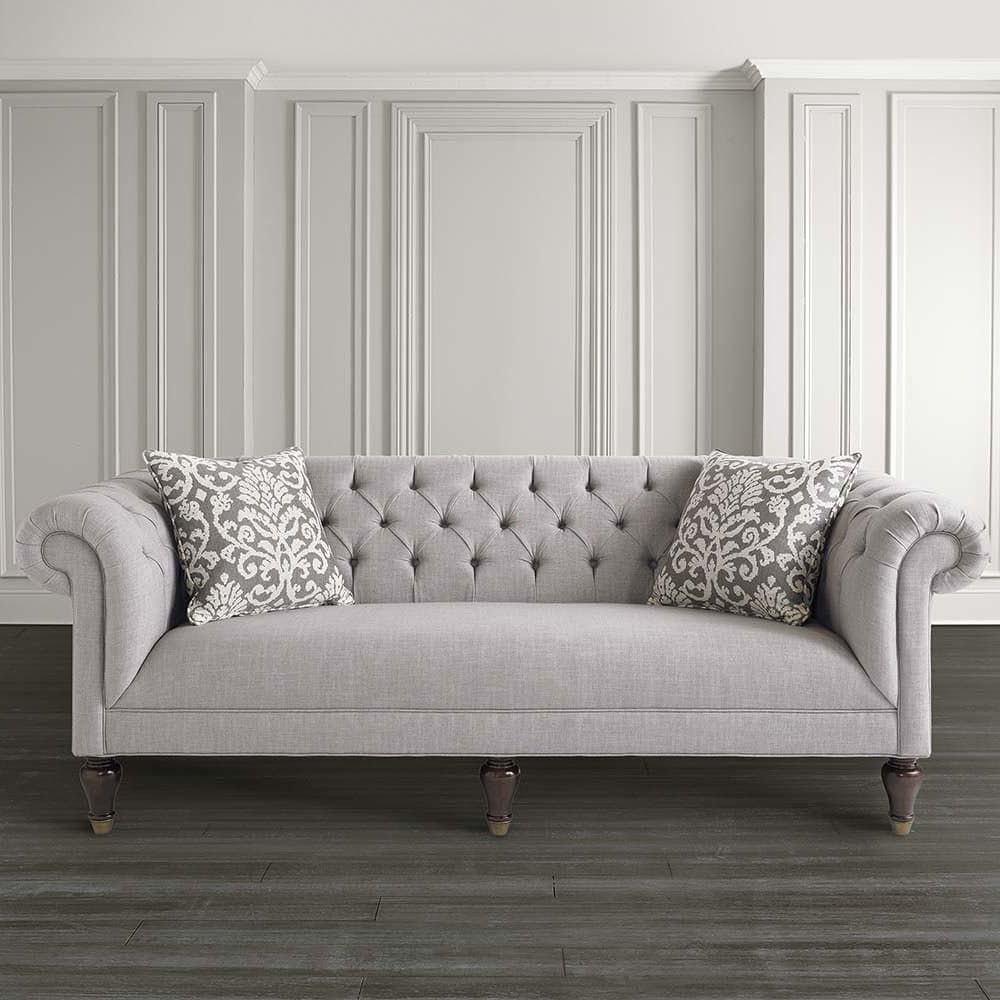 Furniture Charming And Elegant Cheap Living Room Sets: Style Classic: 12 Charming Chesterfield Sofas For Every