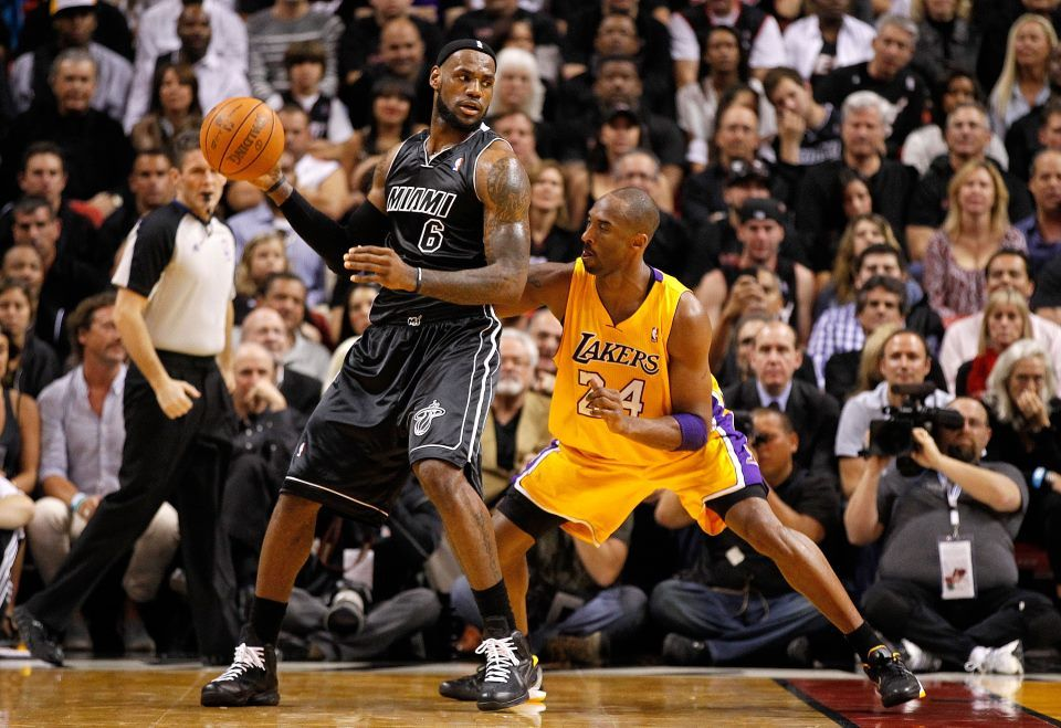The Race To The Playoffs Is Here Including 11 Games Tonight Don T Miss A Second Of The Action With Nba Leagu Kobe Bryant Poster Kobe Bryant Lebron James